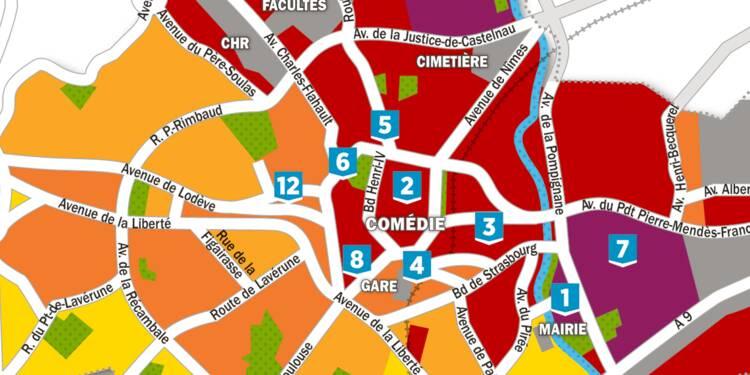 Immobilier : la carte des prix à Montpellier