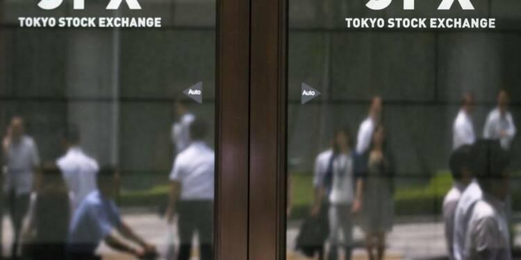 La Bourse de Tokyo enchaîne une quatrième hausse de suite