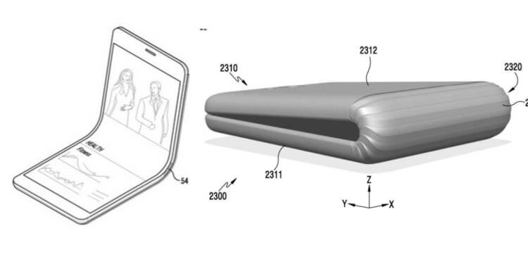 Samsung prépare un smartphone avec écran pliable