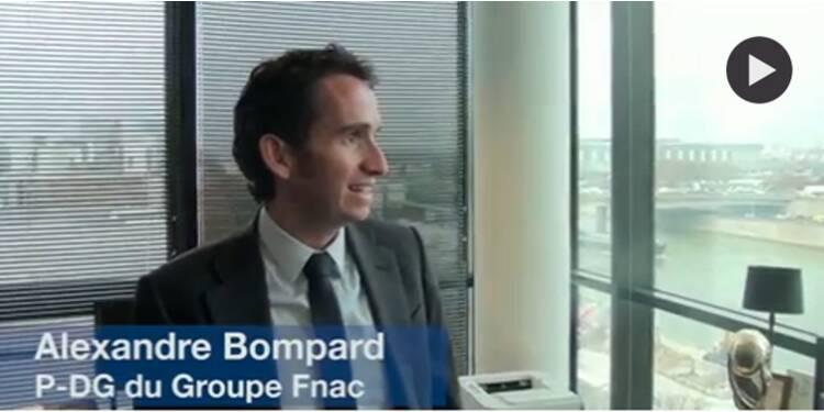 Dans le bureau de d'Alexandre Bompard, patron de la Fnac