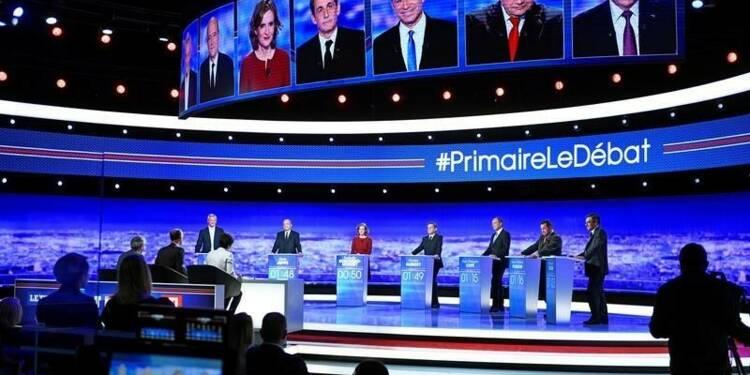 Ambiance studieuse et flèches acérées lors du débat à droite