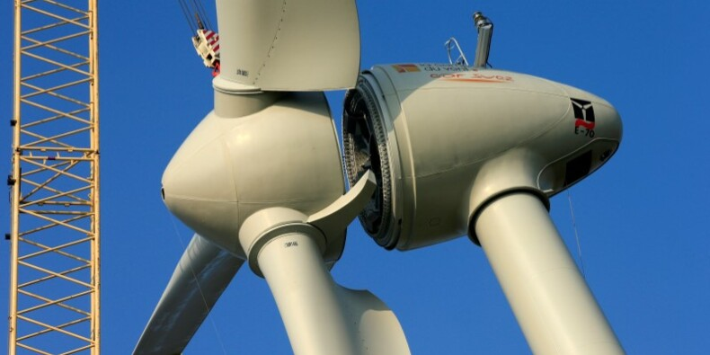 Un projet d'éoliennes flottantes lancé en Bretagne