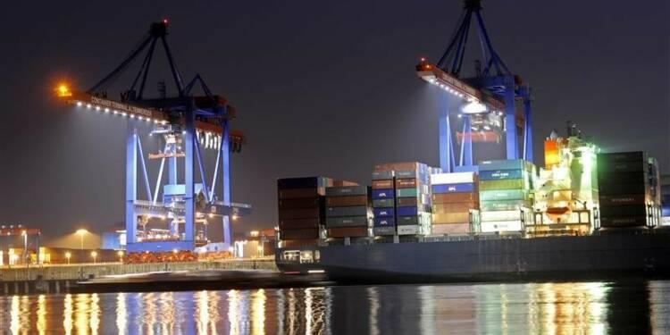 Croissance allemande bien plus marquée au quatrième trimestre