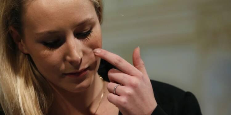 """Marion Maréchal-Le Pen dénonce une """"préférence étrangère"""""""