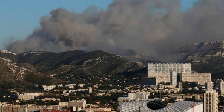 La piste criminelle privilégiée pour l'incendie de Marseille
