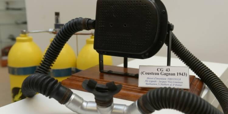 Les adieux d'Air Liquide au commandant Cousteau