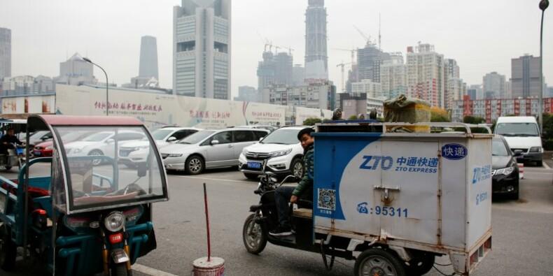 Le chinois ZTO Express lève $1,4 miliard lors de son IPO