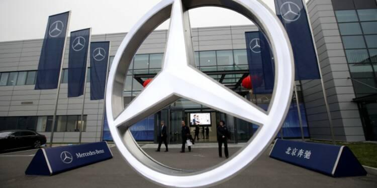 Daimler attend une légère hausse du bénéfice opérationnel 2017