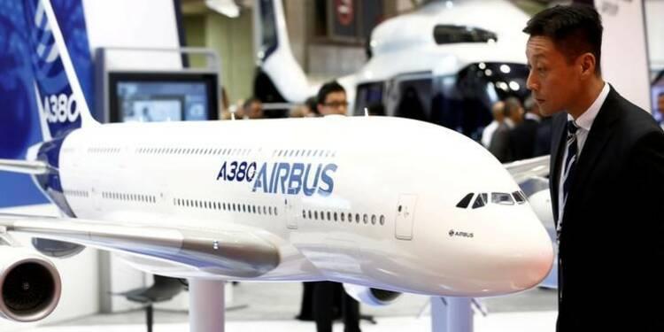 Accord pour financer les 17 premiers Airbus commandés par l'Iran