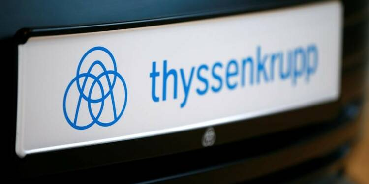 Le résultat de Thyssenkrupp au 1er trimestre en hausse malgré l'acier européen