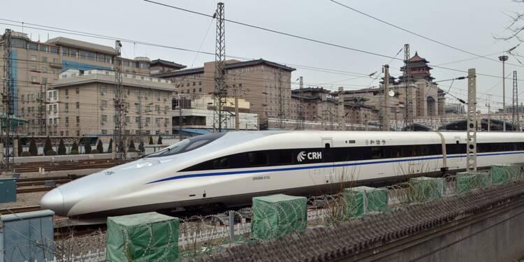 Le TGV chinois est-il plus fort que le TGV français ?