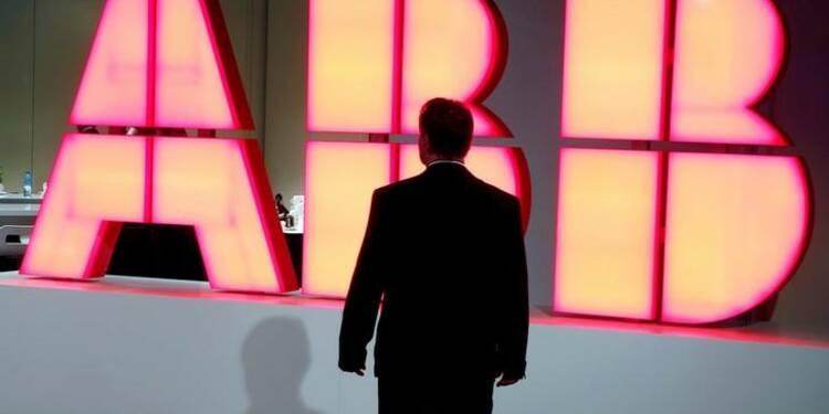 """ABB enraye le déclin des commandes, 2017 """"année de transition"""""""