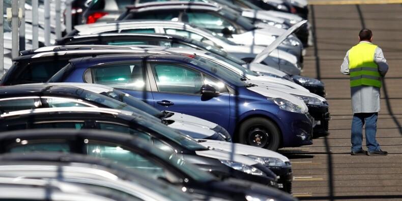 Rebond de 6,7% des ventes de voitures neuves en France en août