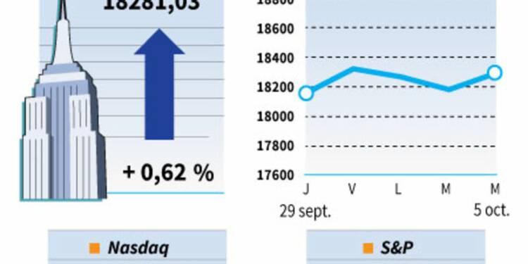 Wall Street termine en hausse avec les financières et l'énergie