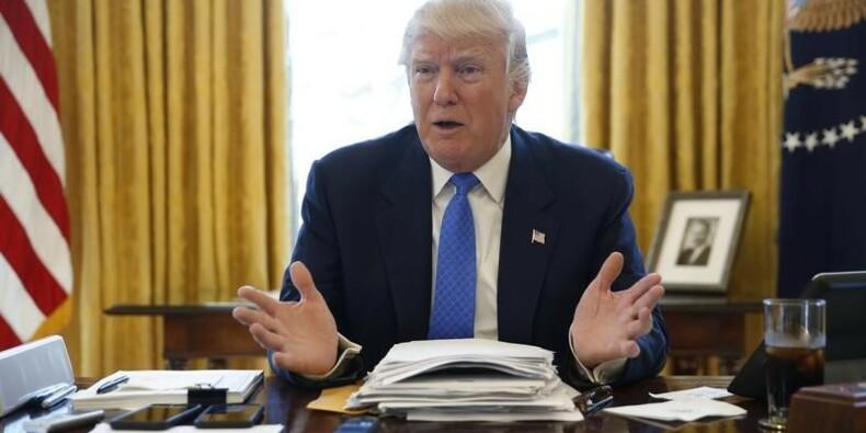 Trump estime qu'une taxe aux frontières pourrait favoriser l'emploi