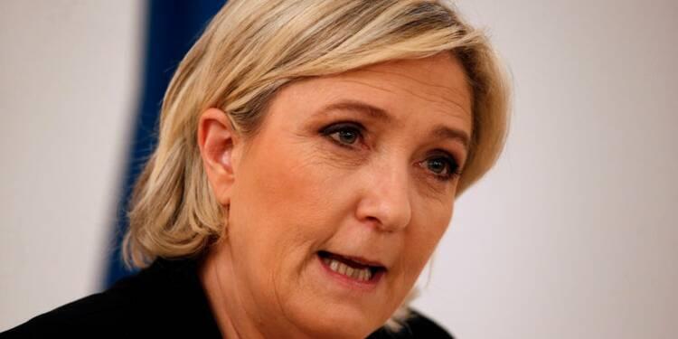 Le Pen plaide pour une nationalisation de la dette