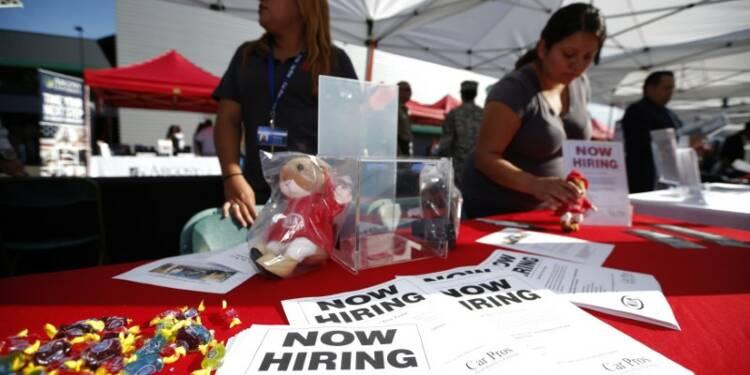 Les créations d'emploi aux Etats-Unis soutenues en octobre