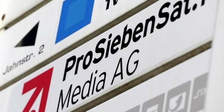 ProSiebenSat1 lève 515 millions d'euros pour son expansion