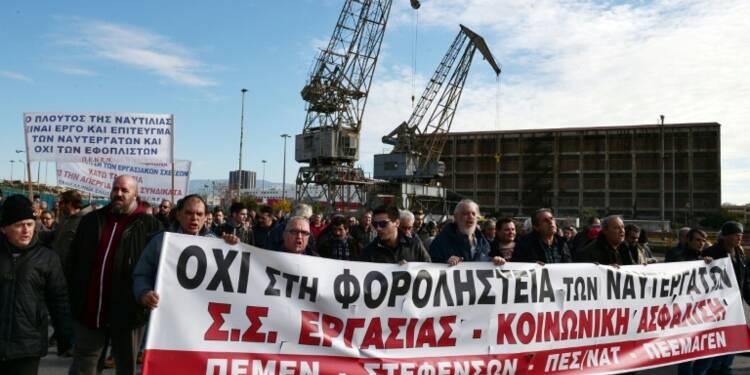 Grèce: grève générale contre de nouvelles mesures d'austérité