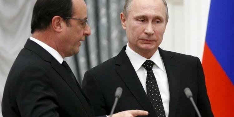 Poutine envisage d'aller à Paris malgré les propos de Hollande