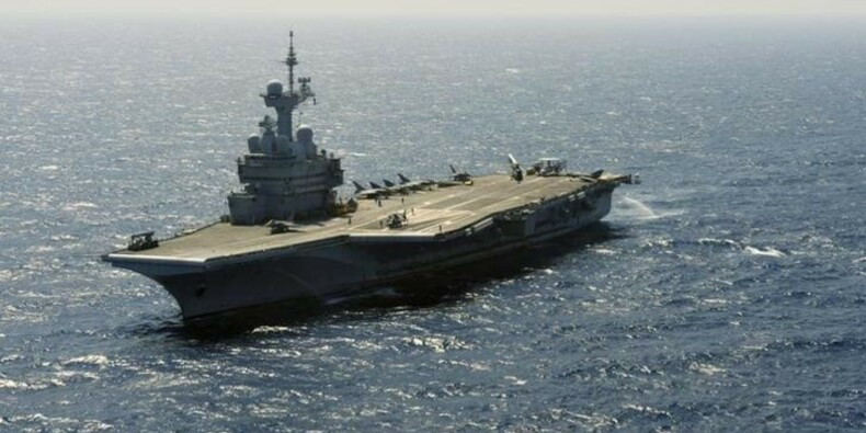 La mission du porte-avions Charles-de-Gaulle prolongée