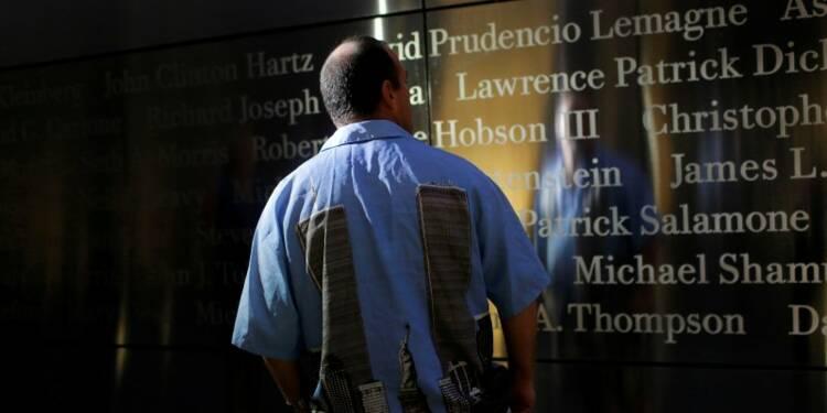 USA: Recueillement pour le 15e anniversaire du 11-Septembre
