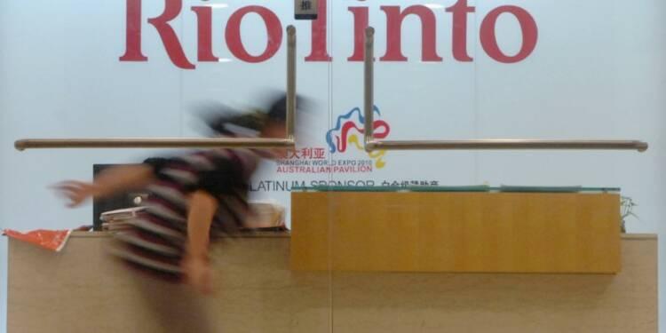 Rio Tinto affiche sa confiance et gâte ses actionnaires
