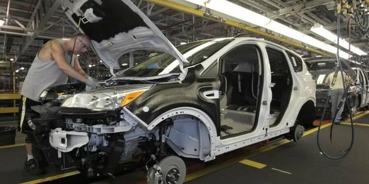 Hausse des commandes à l'industrie aux USA en septembre