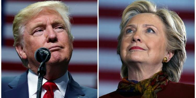 Clinton et Trump face au jugement des Américains