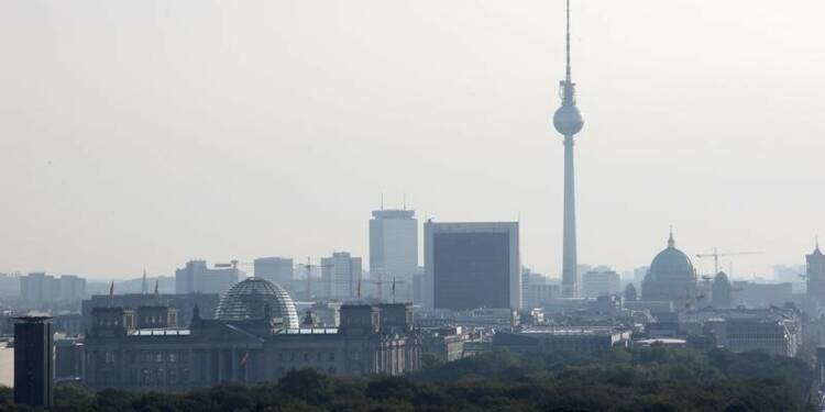 La croissance allemande réduite de moitié au troisième trimestre