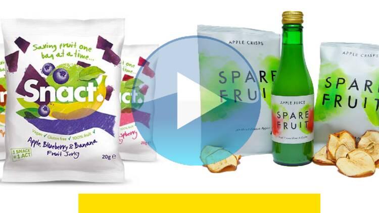 Des bonbons et des chips fabriqués à partir de déchets