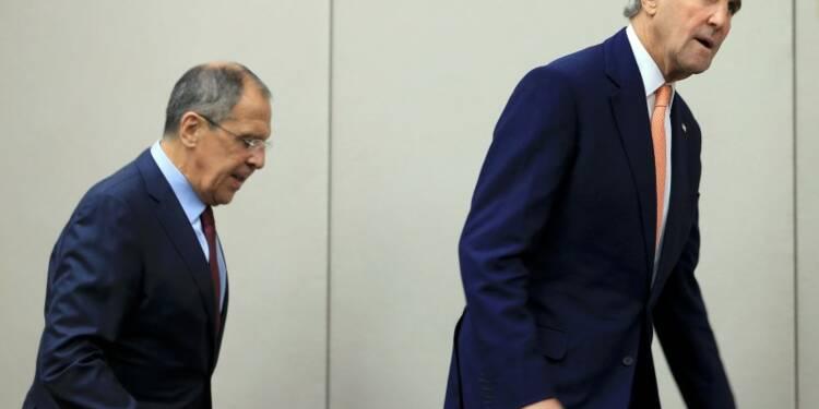 Pas d'accord entre la Russie et les Etats-Unis sur la Syrie