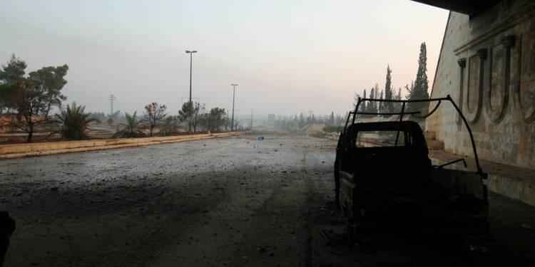 """Damas parle d'attaque """"terroriste"""" au gaz toxique à Alep-Ouest"""