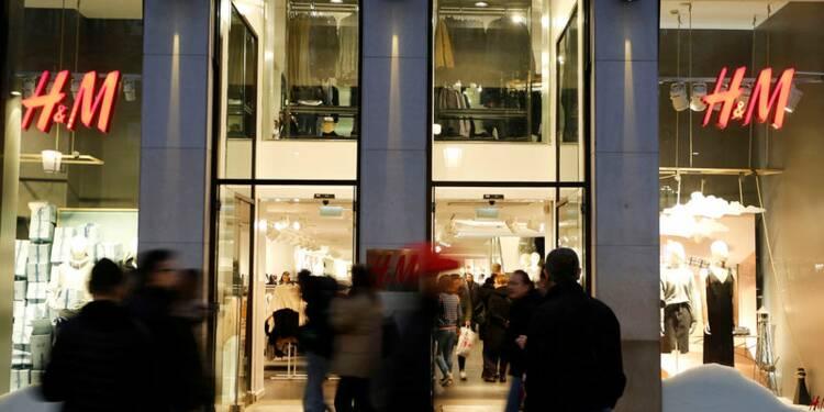 Les ventes d'H&M en hausse de 8% en janvier, moins qu'estimé