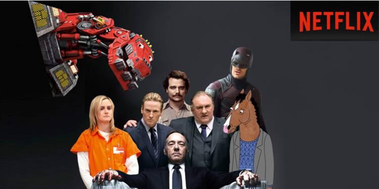 Netflix à l'offensive dans le PAF