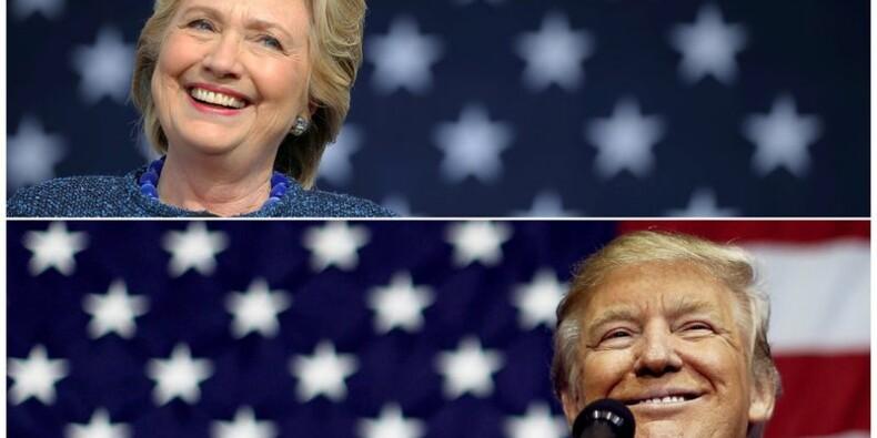 Clinton et Trump tirent leurs ultimes cartouches