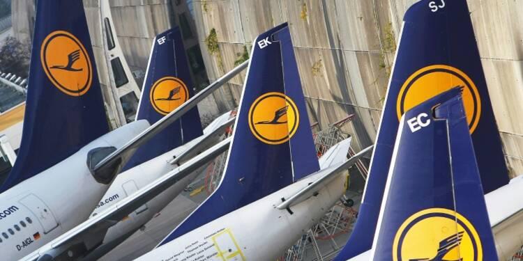 Grève des pilotes: Lufthansa annule 912 vols jeudi