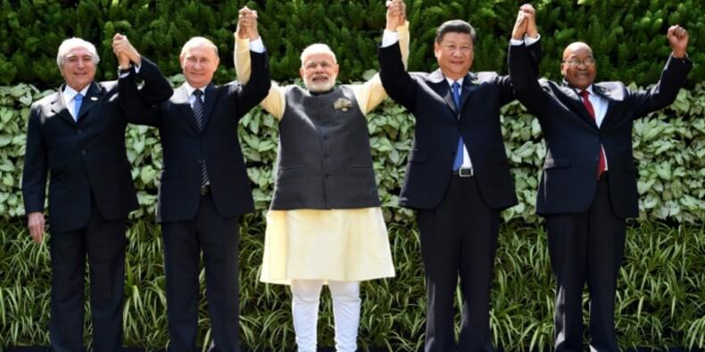 Sommet des Brics: pour Pékin, l'économie mondiale reste fragile