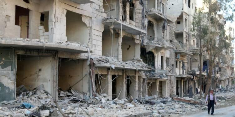 L'armée syrienne annonce l'entrée en vigueur de la trêve à Alep