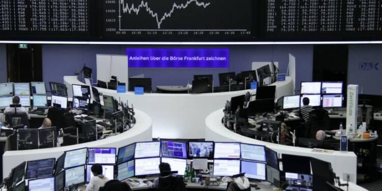 Les Bourses européennes, à l'exception de Francfort, finissent en repli