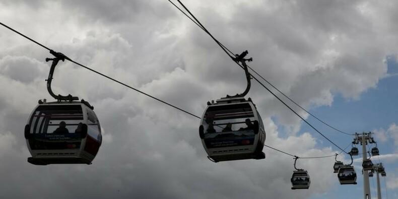 Le premier téléphérique urbain de France inauguré à Brest