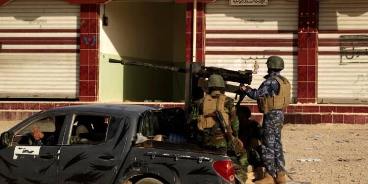 L'armée irakienne reprend deux districts de l'est de Mossoul