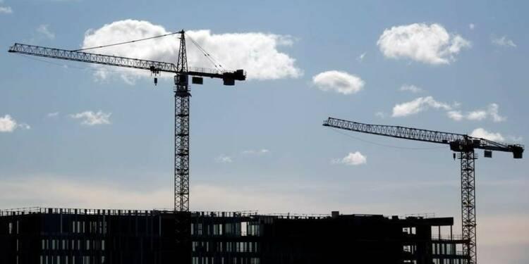 Les mises en chantier de logement au plus haut depuis 2012
