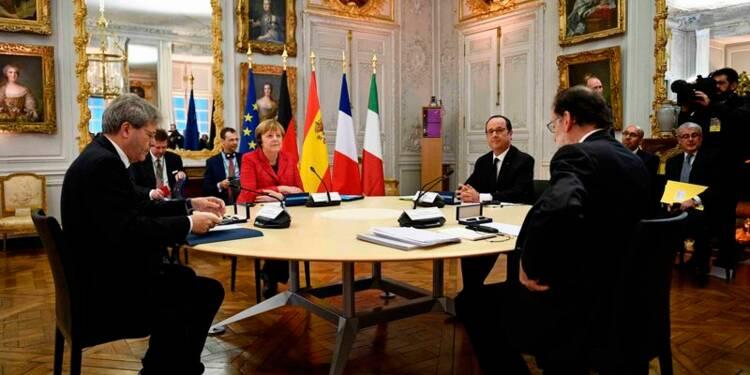 Allemagne, France, Italie, Espagne pour une Europe à la carte