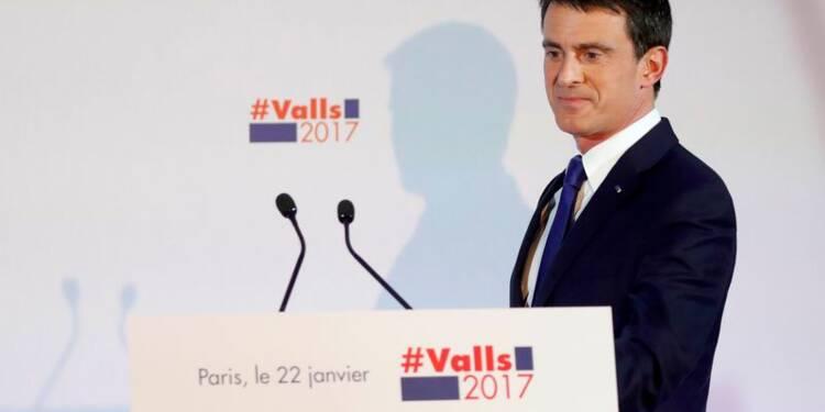 """Valls attaque Hamon, accusé de représenter une """"défaite assurée"""""""