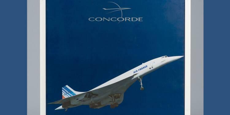 Offrez-vous un petit bout du Concorde !