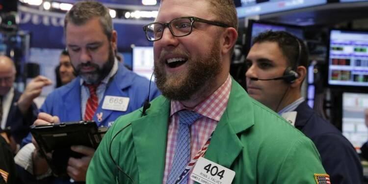 Wall Street ouvre en nette hausse après les chiffres de l'emploi