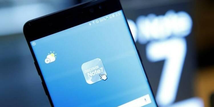 Samsung abaisse ses prévisions après le retrait du Note 7