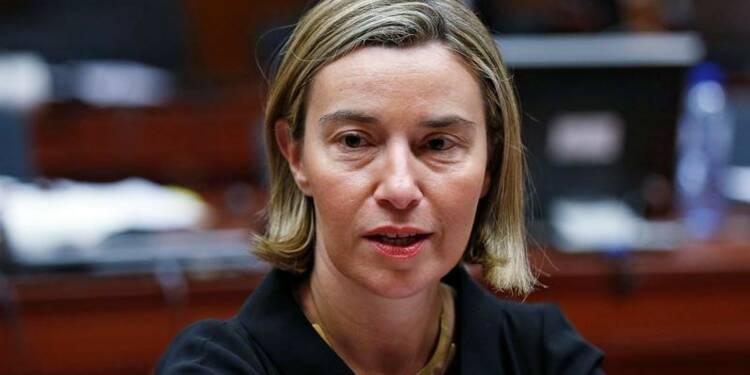 Mogherini (UE) regrette l'annonce du retrait russe de la CPI
