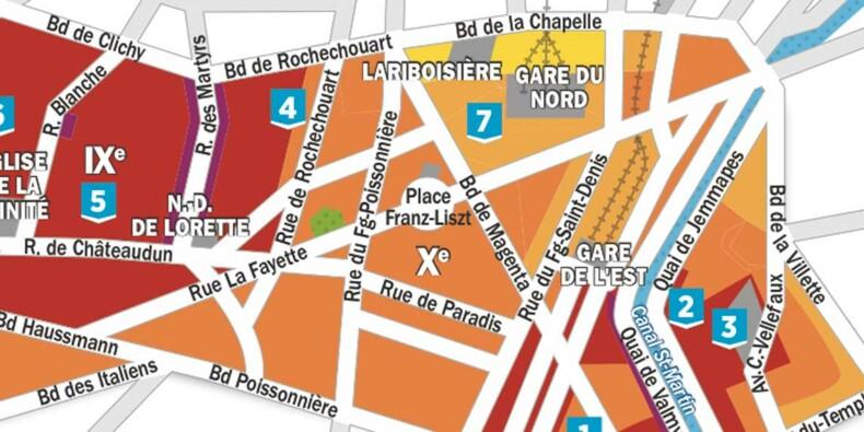 Immobilier à Paris : nos cartes de prix arrondissement par arrondissement